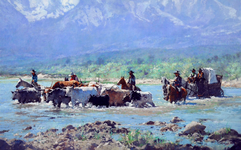 Another Day at the Office, artist C.M. Dudash, limited edition giclee print