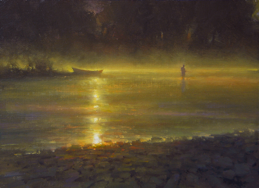 A Heavenly Morning by artist Brent Cotton