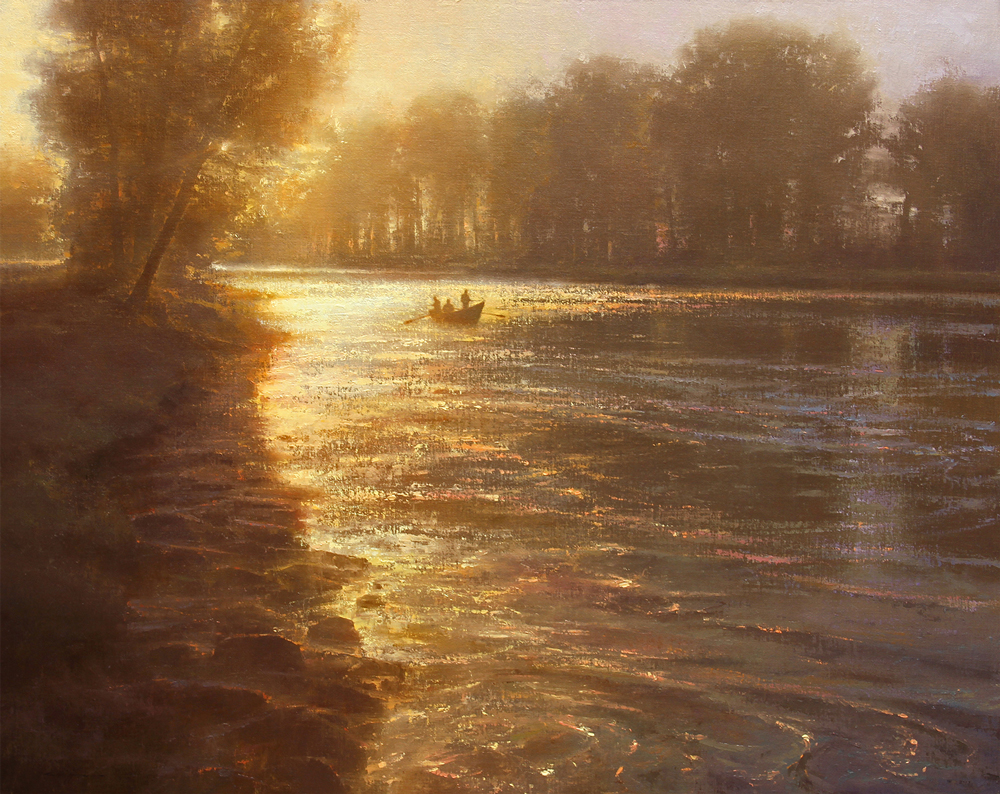 A Timeless Drift by artist Brent Cotton