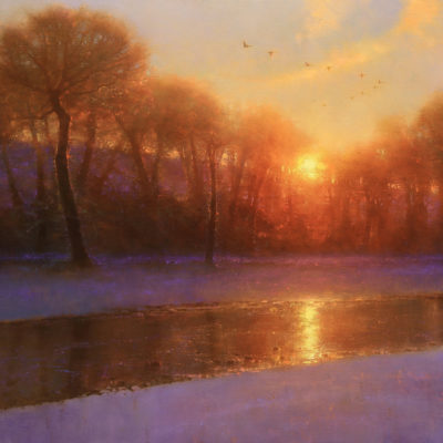 Morning on the Missouri by artist Brent Cotton