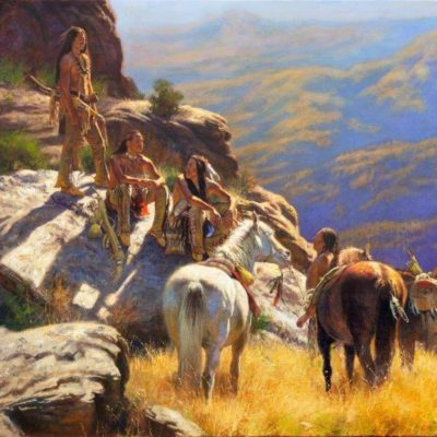 After the Climb by artist Don Oelze