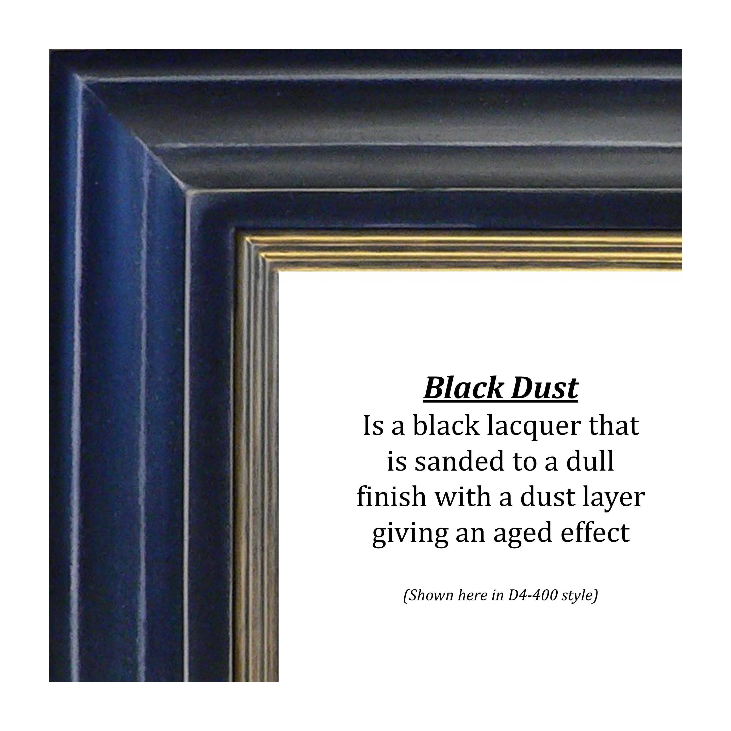 black dust finish image, bitterroot frames and publishing
