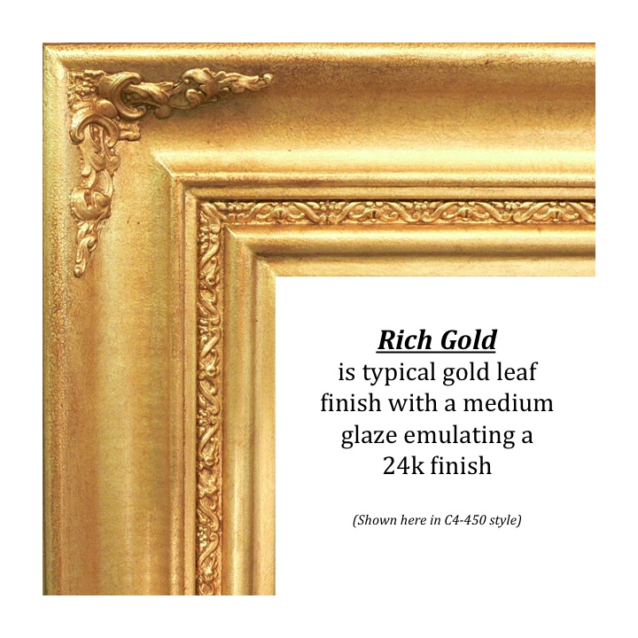 Rich Gold, Bitterroot Frames, finishes, custom frames