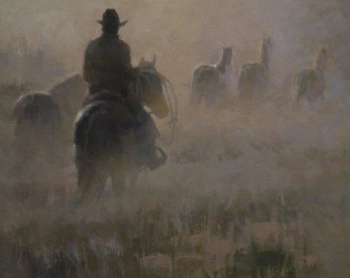 Montana Morning by artist Rachel Warner