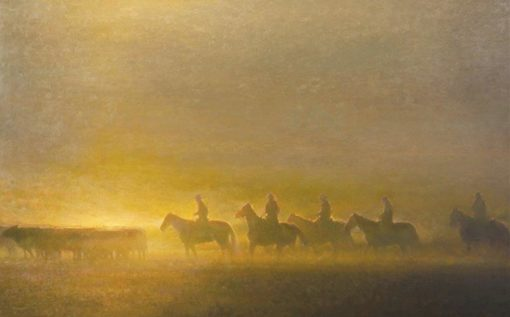36x60 giclee prints, Morning on the Prairie by artist Rachel Warner