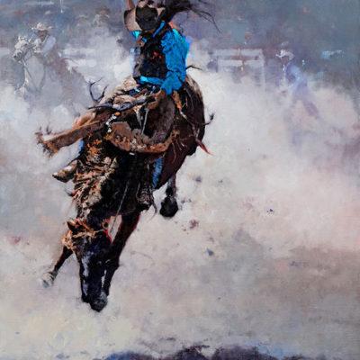 Rodeo- Flyin' High, giclee print by artist Michael Dudash
