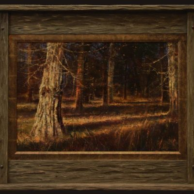 Brent Cotton Whitetail Heaven 20x30