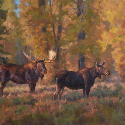 Chad Poppleton Cottonwood Sanctuary 20x30