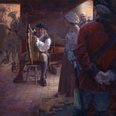 John Buxton The Spellbinder's Serenade 32x34